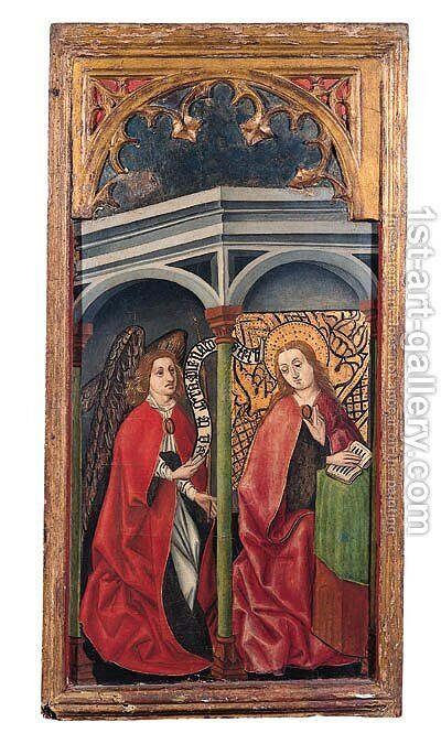 The Visitation by Castilian School - Reproduction Oil Painting