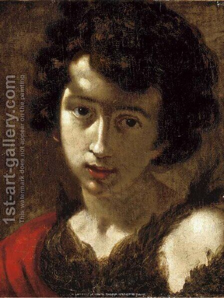 The young Saint John the Baptist by Cesare Dandini - Reproduction Oil Painting