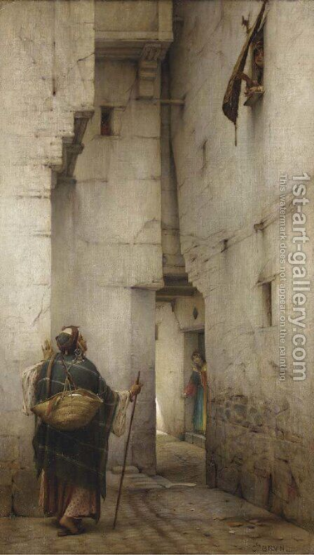 La Ruelle by Charles Le Brun - Reproduction Oil Painting