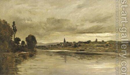 Paysages by Charles-Francois Daubigny - Reproduction Oil Painting