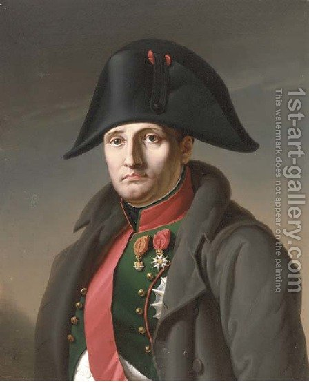 Napoleon by Charles de Chatillon - Reproduction Oil Painting