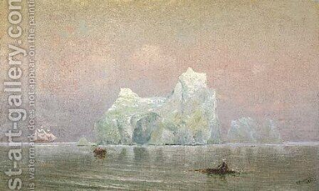 The Iceberg by Charles Robinson - Reproduction Oil Painting