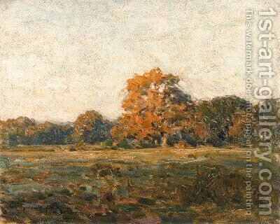 Autumn Landscape by Charles Harold Davis - Reproduction Oil Painting