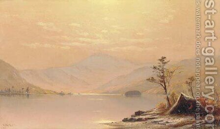 Lake George by Charles Henry Gifford - Reproduction Oil Painting