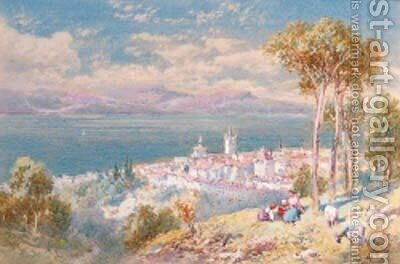 Lausanne, Switzerland by Charles Rowbotham - Reproduction Oil Painting