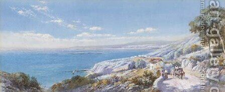 Near San Remo by Charles Rowbotham - Reproduction Oil Painting