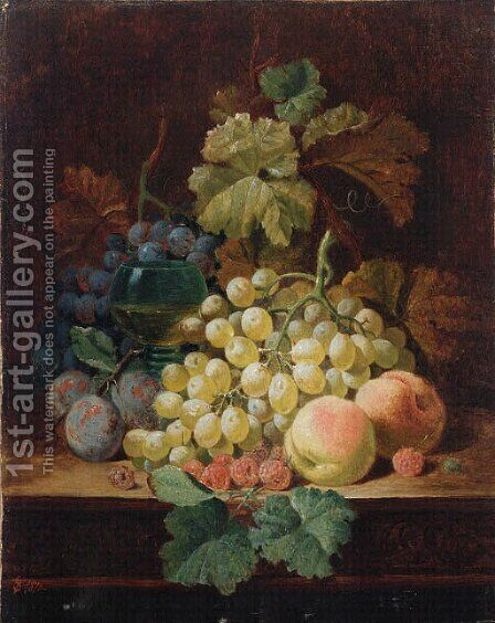 Still life by Charles Thomas Bale - Reproduction Oil Painting