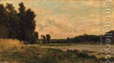 Untitled 3 by Charles-Francois Daubigny - Reproduction Oil Painting