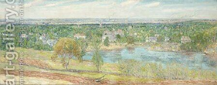 Andover, Massachusetts by Childe Hassam - Reproduction Oil Painting