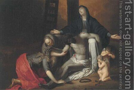 The Lamentation by (after) Adriaen Van Der Werff - Reproduction Oil Painting