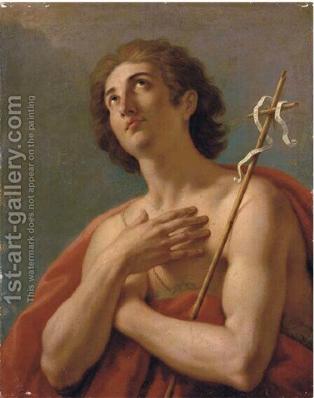 Saint John the Baptist by (after) Antonio Cavallucci - Reproduction Oil Painting