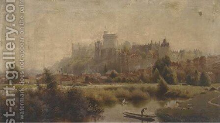 Morning, Windsor by (after) Edmund John Neimann - Reproduction Oil Painting