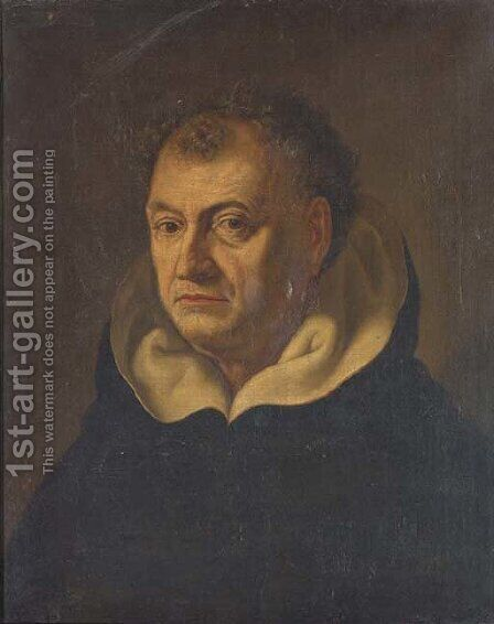 Portrait of a Dominican, bust-length by (after) Fabre, Francois Xavier - Reproduction Oil Painting
