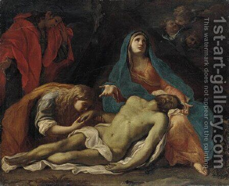 Pieta by (after) Francesco Trevisani - Reproduction Oil Painting