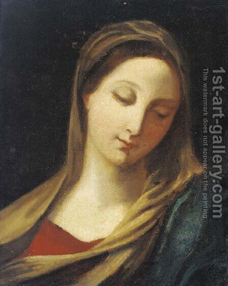 The Virgin by (after) Francesco Trevisani - Reproduction Oil Painting