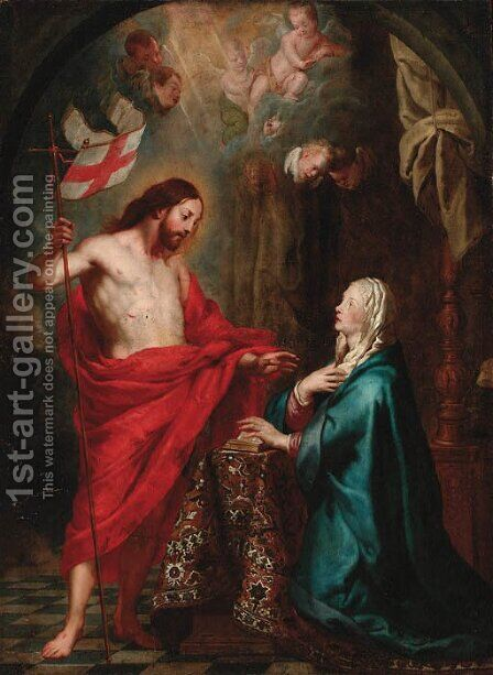 Noli me tangere by (after) Gaspar De Crayer - Reproduction Oil Painting