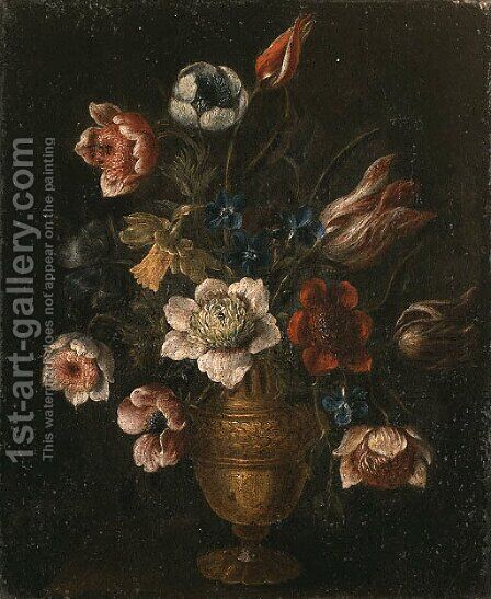 Still life by (attr. to) Recco, Giacomo - Reproduction Oil Painting