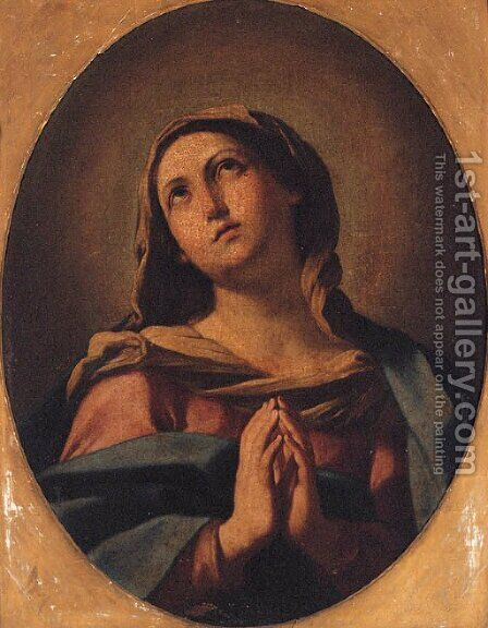 The Virgin at prayer by (after) Giovanni Battista Salvi, Il Sassoferrato - Reproduction Oil Painting