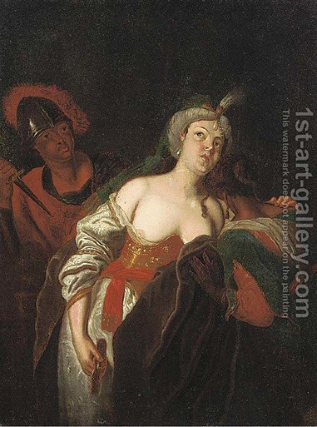The Rape of Lucretia by (after) Jacob Toorenvliet - Reproduction Oil Painting