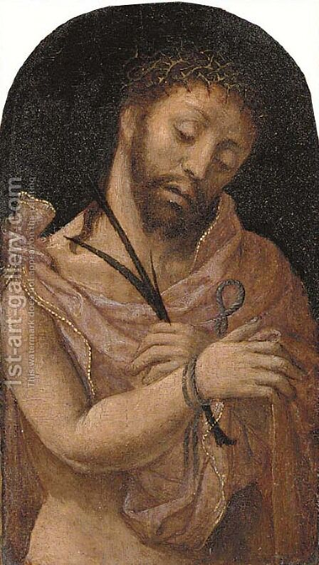 Ecce Homo by (after) Jan (Mabuse) Gossaert - Reproduction Oil Painting