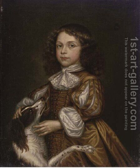 Portrait of a boy by (after) John Hayls - Reproduction Oil Painting