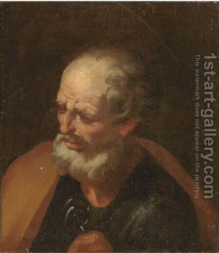 Saint Peter by (after) Jusepe De Ribera, Lo Spagnoletto - Reproduction Oil Painting