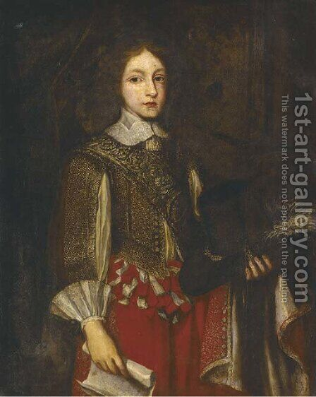 Portrait of James II (1633-1701) when Duke of York by (after) Justus Sustermans - Reproduction Oil Painting