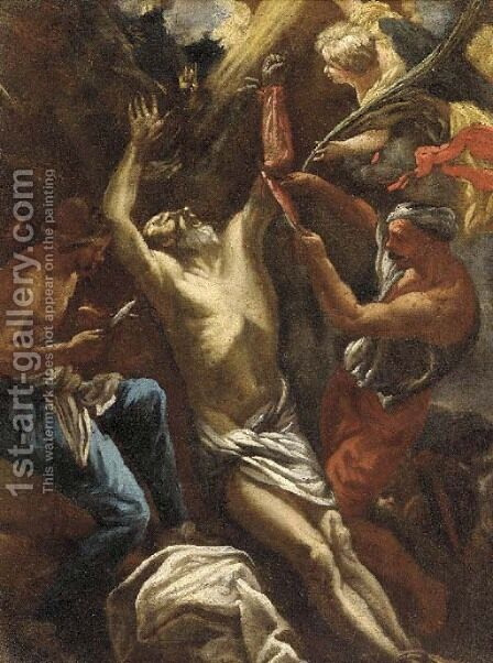 The Flaying of Marsyas by (after) Luca Giordano - Reproduction Oil Painting