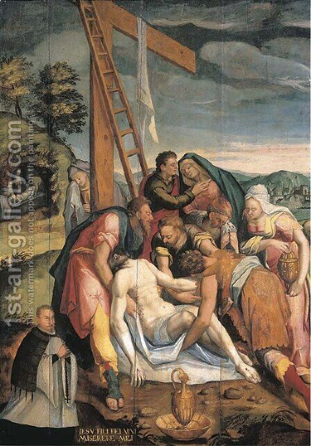 The Lamentation by (after) Pedro De Campana - Reproduction Oil Painting