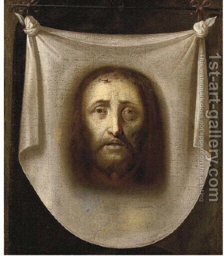 The Veil of Saint Veronica by (after) Philippe De Champaigne - Reproduction Oil Painting