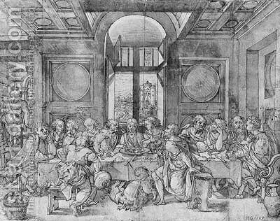 The Last Supper by (after) Pieter Coecke Van Aelst - Reproduction Oil Painting