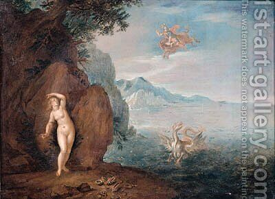 Perseus and Andromeda by (after) Pieter Van Bredael - Reproduction Oil Painting