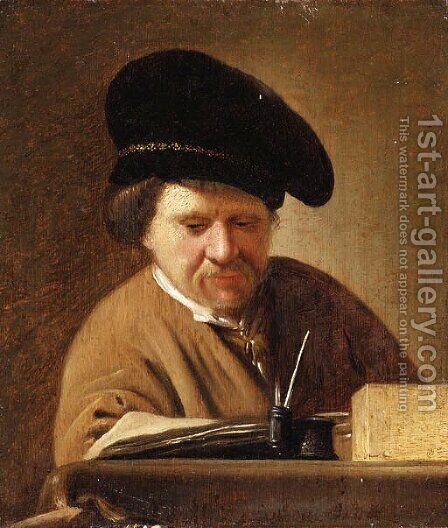 Rembrandt by (after) Rembrandt Van Rijn - Reproduction Oil Painting