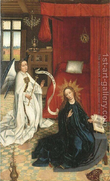 The Annunciation by (after) Rogier Van Der Weyden - Reproduction Oil Painting