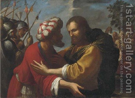 The Betrayal of Christ by (after) Rutilio Manetti - Reproduction Oil Painting