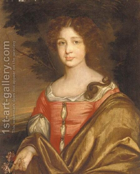 Portrait of Lady Ann Howard by (after) Sir Peter Lely - Reproduction Oil Painting
