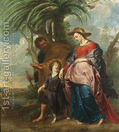 The Return from Egypt by (after) Sir Peter Paul Rubens - Reproduction Oil Painting