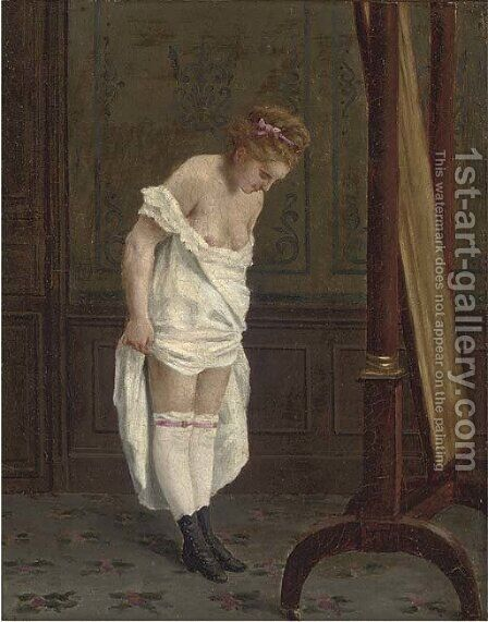 New shoes by Cirle Of Thomas Couture - Reproduction Oil Painting