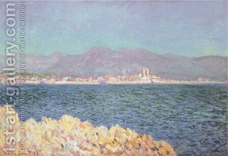 Golfe d'Antibes by Claude Oscar Monet - Reproduction Oil Painting