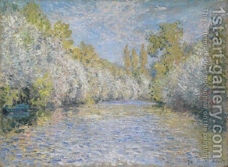 L'Yerres pres de Montgeron by Claude Oscar Monet - Reproduction Oil Painting