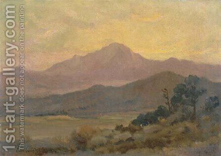 Pikes Peak, Colorado by Colin Campbell Cooper - Reproduction Oil Painting