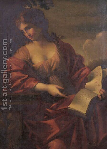 A sybil by Concellina Ciappa - Reproduction Oil Painting