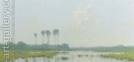 Wetlands by Cornelis Kuypers - Reproduction Oil Painting