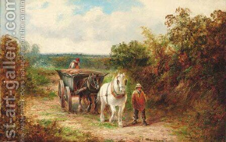 Returning Home by David Payne - Reproduction Oil Painting