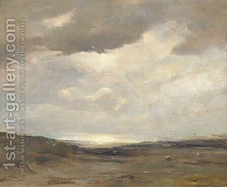 Lossiemouth, Elgin by David West - Reproduction Oil Painting
