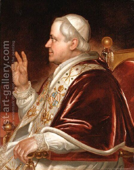Pope Pius the IX by Domenico Tojetti - Reproduction Oil Painting