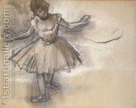 Danseuse 2 by Edgar Degas - Reproduction Oil Painting