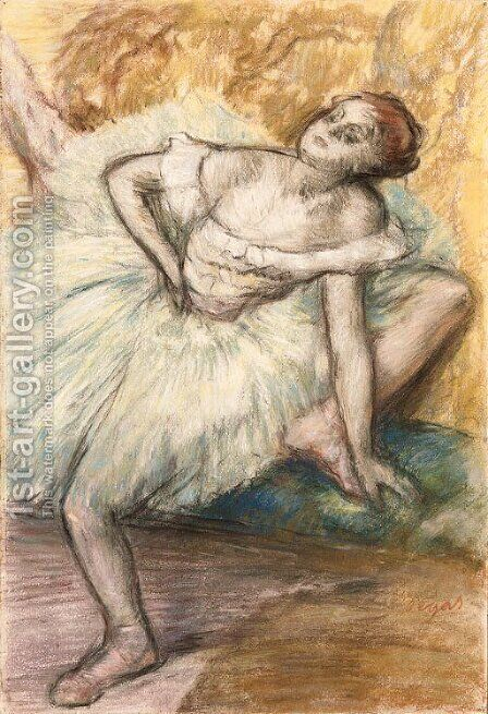 Danseuse 3 by Edgar Degas - Reproduction Oil Painting