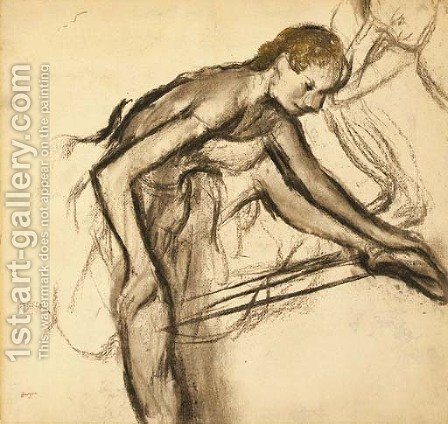 Danseuse au repos 2 by Edgar Degas - Reproduction Oil Painting