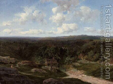 Ashdown Forest, Kent by Edward H. Niemann - Reproduction Oil Painting